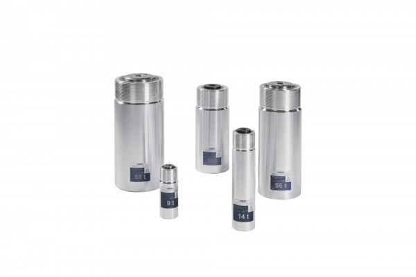 Double-acting light alloy cylinders