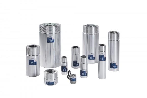 Einfachwirkende Leichtmetallzylinder