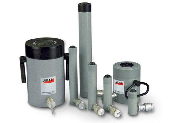 Einfachwirkende Stahlzylinder