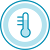 Icon-Temperatur